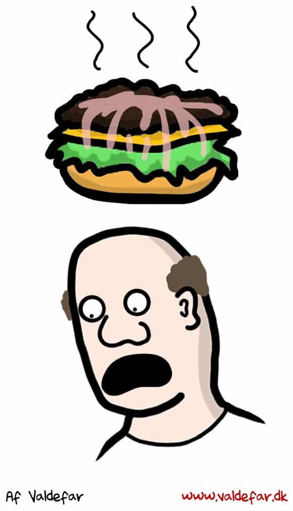Når der er klam ketchup-væde ud over hele ens burger