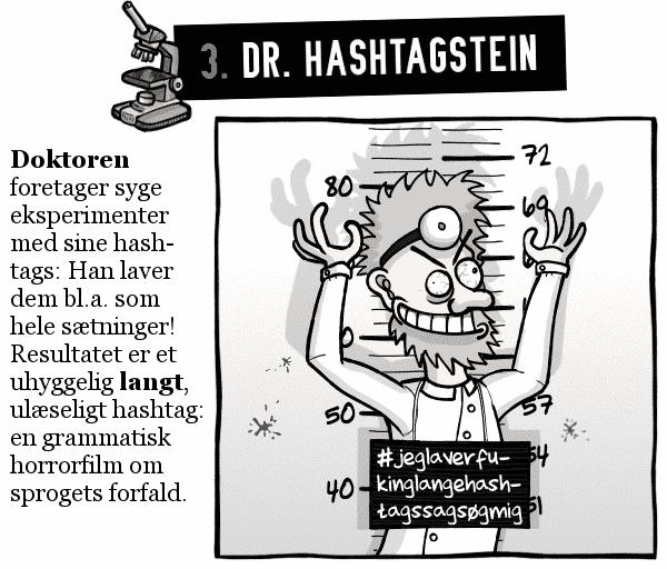 3. Dr. Hashtagstein
