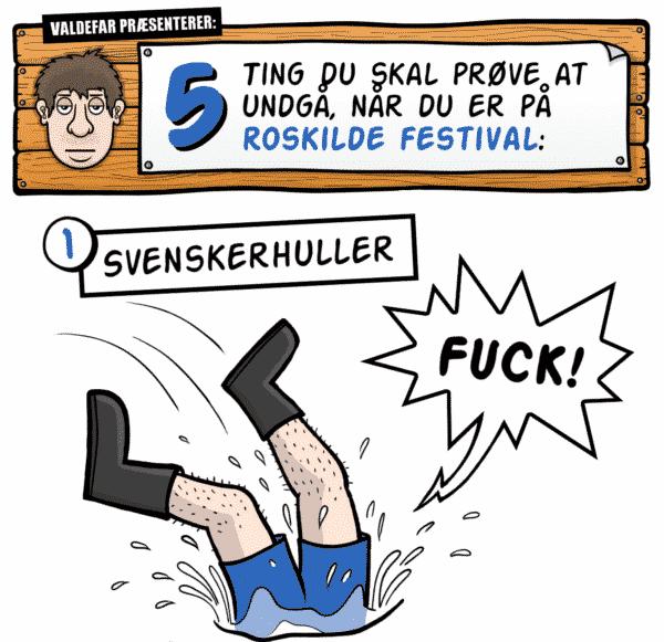 Roskilde Festival: 5 ting du skal prøve at undgå, når du er på festivalen