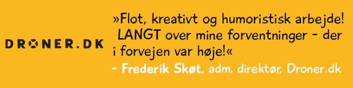 Kunder og samarbejde – Droner.dk
