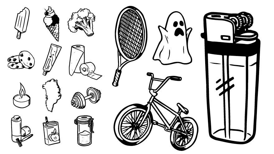 Illustration & bestillingsarbejde – Ikoner & symboler