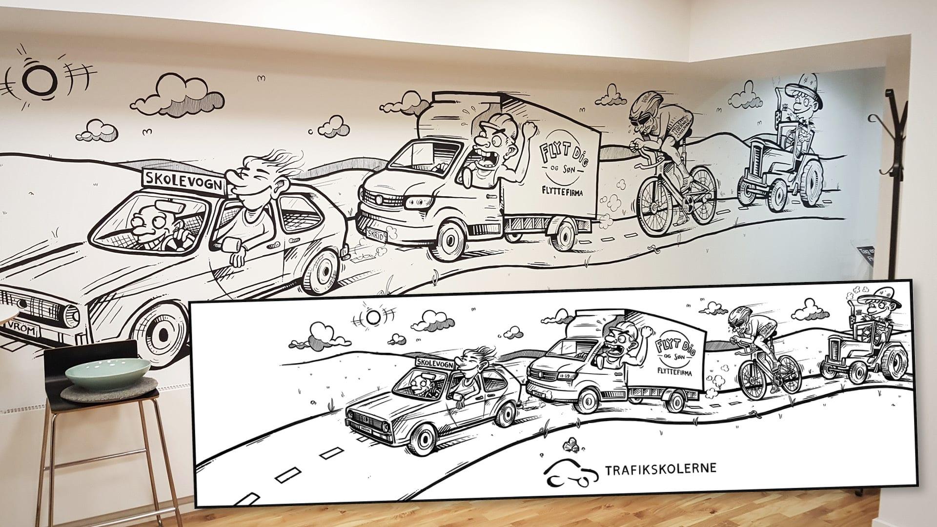 Kunder og samarbejde – Trafikskolerne