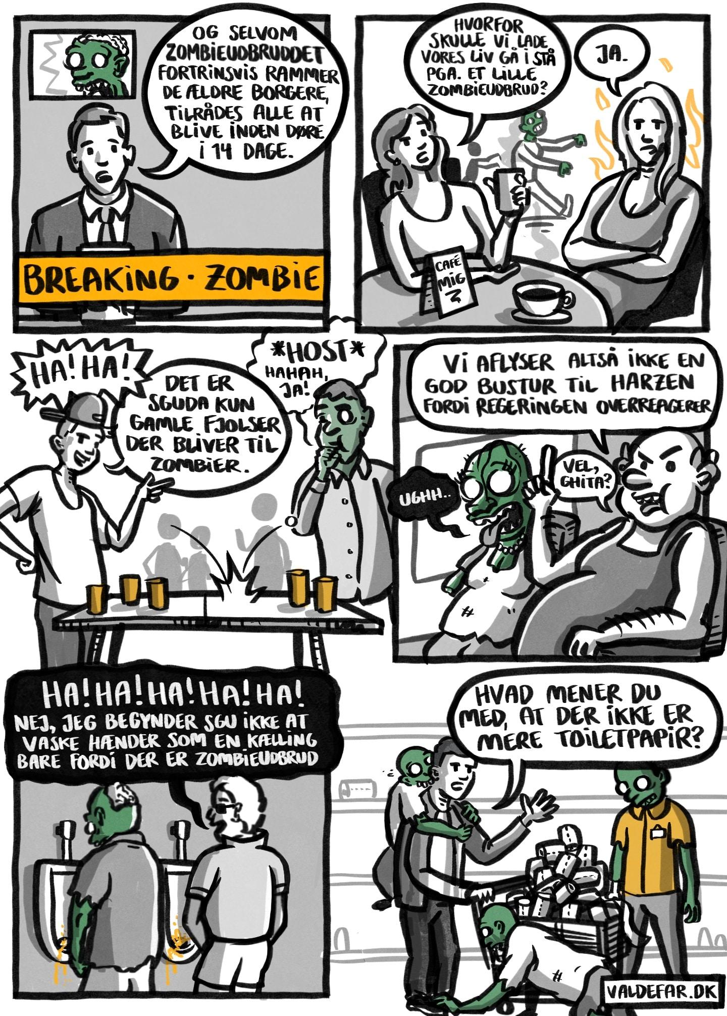 Coronavirus: Hvordan ville I reagere, hvis det var zombier i stedet?