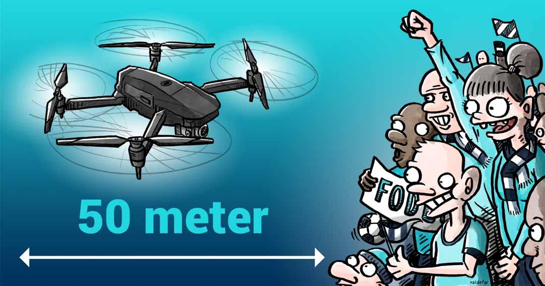 Teknisk illustration for Droner.dk: Forsamlinger
