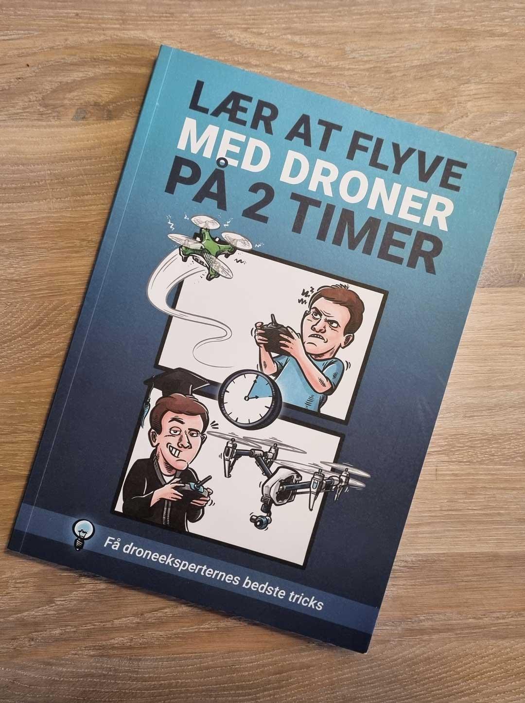Tekniske tegninger til Droner.dk: Lær at flyve med droner på 2 timer