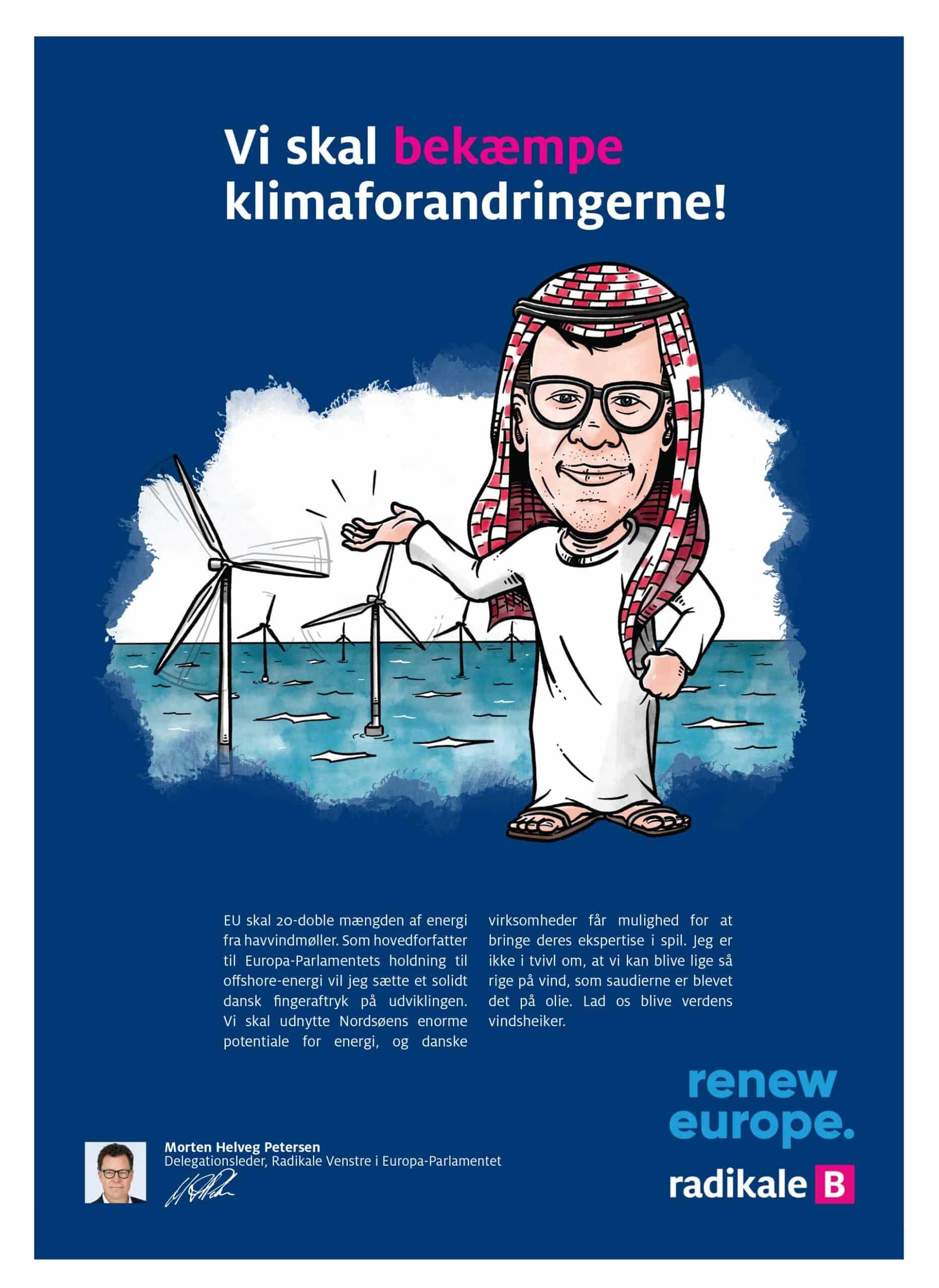 Artikelillustrationer for Radikale Venstre: Vi skal bekæmpe klimaforandringerne!